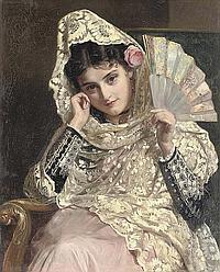 John Bagnold Burgess, R.A. (1830-1897)