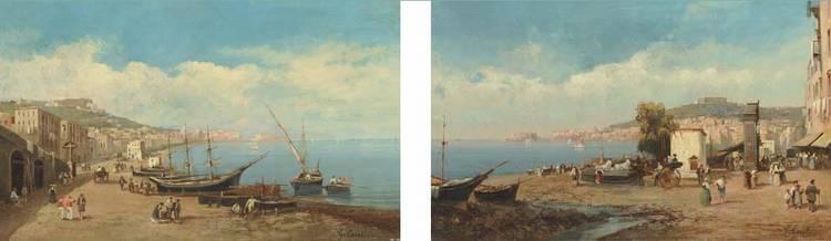 Giuseppe Carelli (Italian, 1858-1921)