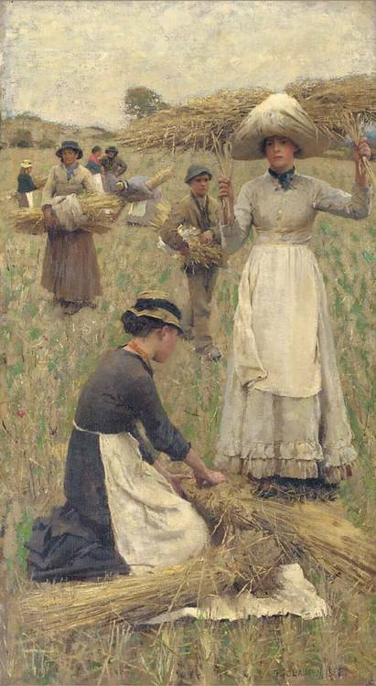 Sir George Clausen, R.A., R.W.S. (1852-1944)