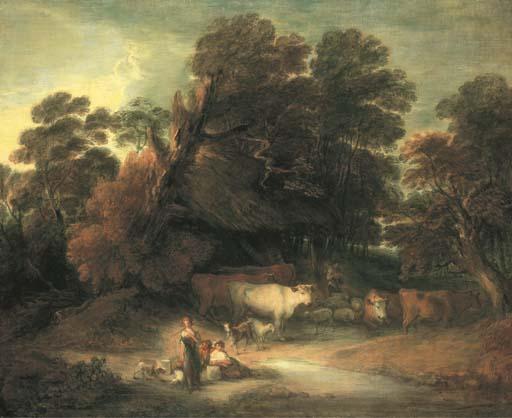 ATTRIBUE A GAINSBOROUGH DUPONT (? C. 1754-1829 LONDRES)