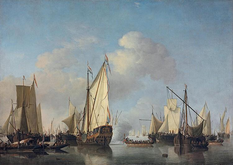 Willem van de Velde the Younger (Leiden 1633-1707 Westminster)