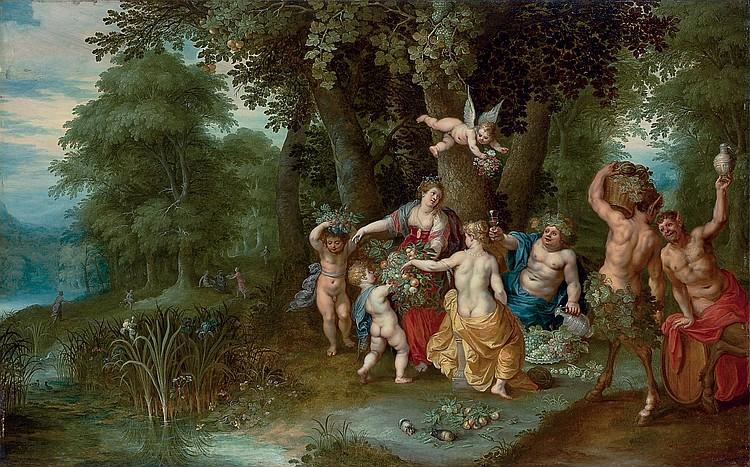 Abraham Govaerts (Antwerp 1589-1626) and Hendrik van Balen I (Antwerp 1574-1632)