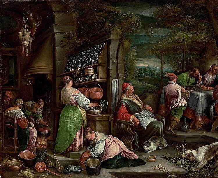 Jacopo da Ponte, called Jacopo Bassano (Bassano del Grappa c. 1510-1592) and Francesco Bassano il giovane (Bassano del Grappa 1549-1592 Venice)