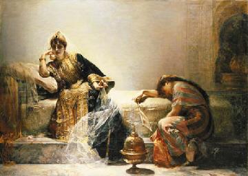 Edouard Fr'd'rich Wilhelm Richter (French, 1844-1913)