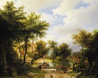 Barend Cornelis Koekkoek (Dutch, 1803-1862)