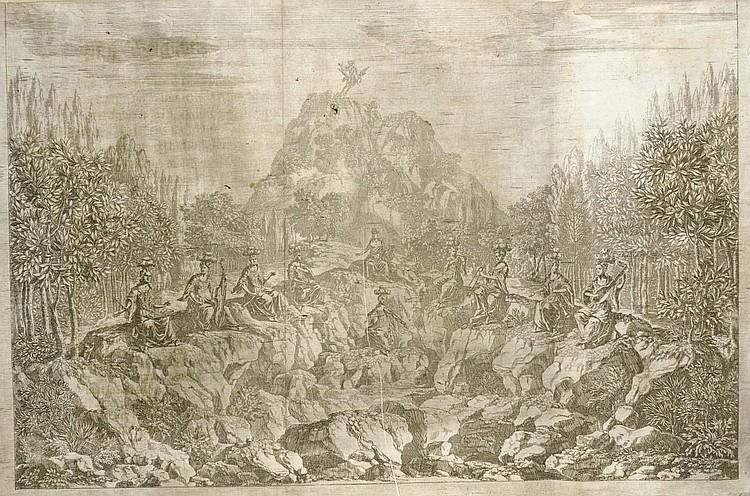 DRESDEN 1679 -- [HARMS, Johann Oswald, producer (not after 1643-1708).] Opera-Ballet Von dem Judicio Paridis, Und der Helenae Raub, So auf dem Churfürstlichen Sächssischen Haupt-Theatro Bey dem angestellten Friedens-Feste, Nebenst denen