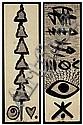 Rachid Koraichi (Algerian, b. 1947) , Rachid Koraichi, Click for value