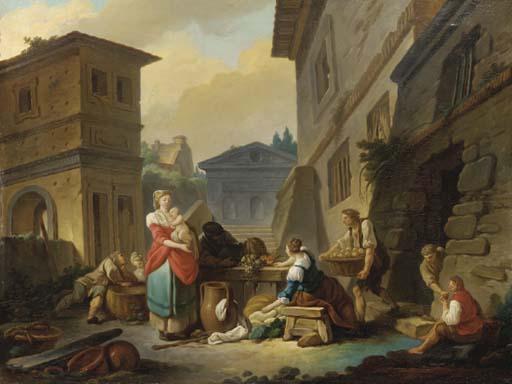 ENTOURAGE DE ETIENNE JEAURAT (PARIS 1699-1789 VERSAILLES)