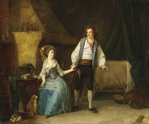 ATTRIBUE A ETIENNE AUBRY (VERSAILLES 1745-1781)