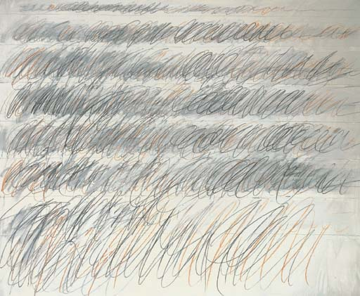 Cy Twombly (b. 1928)