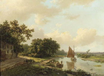 Marinus Adrianus Koekkoek (Dutch, 1807-1868)