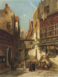 William Raymond Dommersen (Dutch, 1850-1927)