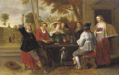 Christoffel Jacobsz. van der Lamen (Brussels 1606/15-1651 Antwerp)