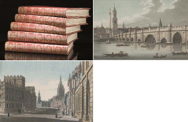 [BOYDELL, John (1719-1804) & Josiah] An History of the River Thames, London: Printed by W. Bulmer and Co. for John & Josiah Boydell, 1794-[96].