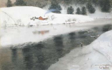 Fritz Thaulow (Norwegian, 1847-1906)