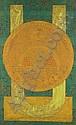 Charles Hossein Zenderoudi (Iranian, b. 1937) , Hussein Zenderoudi, Click for value
