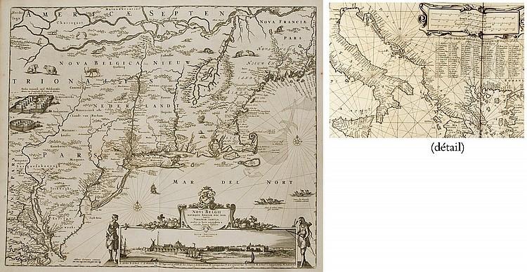 JANSSONIUS, Johannes (1588-1664).  Nieuwen Atlas, ofte Werelts-Beschrijvinge.  Amsterdam: Janssonius, 1657-1658.