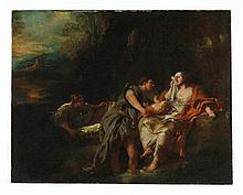Jean-François de Troy (Paris 1679-1752 Rome) - Moses Cast into the Nile