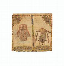 Charles A. A. Dellschau (1830-1923) Untitled (4626 / Sonora), double sided, 1920 mixed media on paper 17 x 18 in.