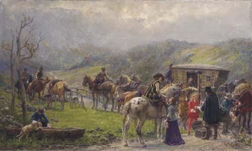 Wilhelm Carl Räuber (German, 1849-1926)