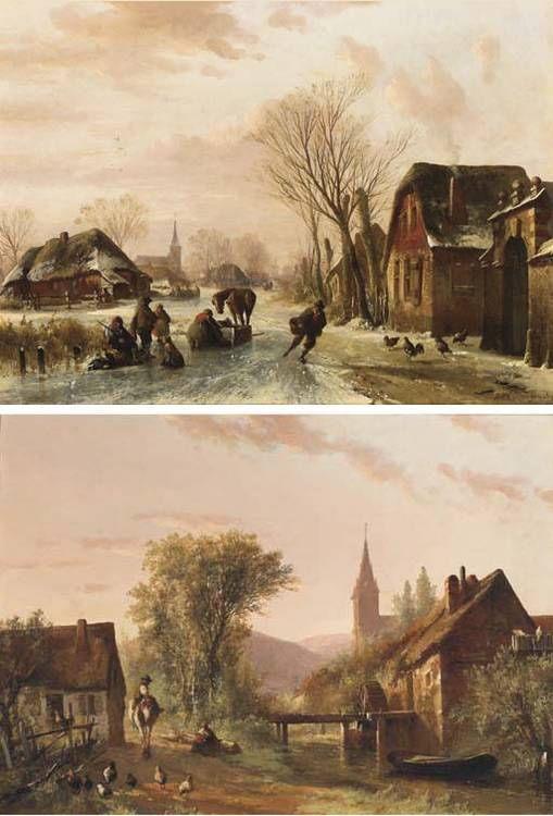 Abraham van der Wayen Pieterszen (Dutch, 1817-1880)