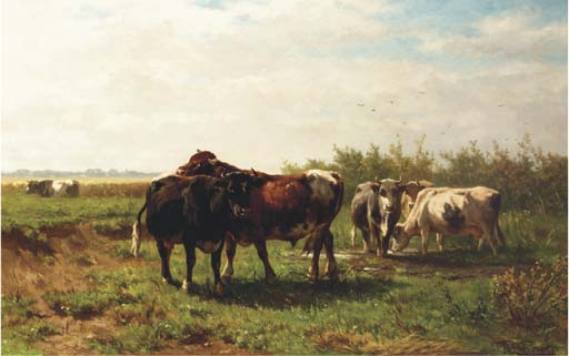 Johannes Hubertus Leonardus de Haas (Dutch, 1832-1908)