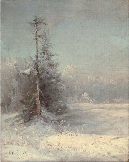 Aleksei Kondrat'evich Savrasov (1830-1897)
