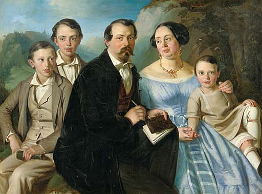 Portrait of the Sodoma family