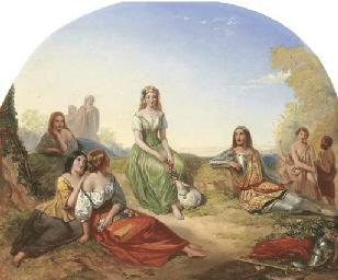Augustus Jules Bouvier (c.1821-1881)