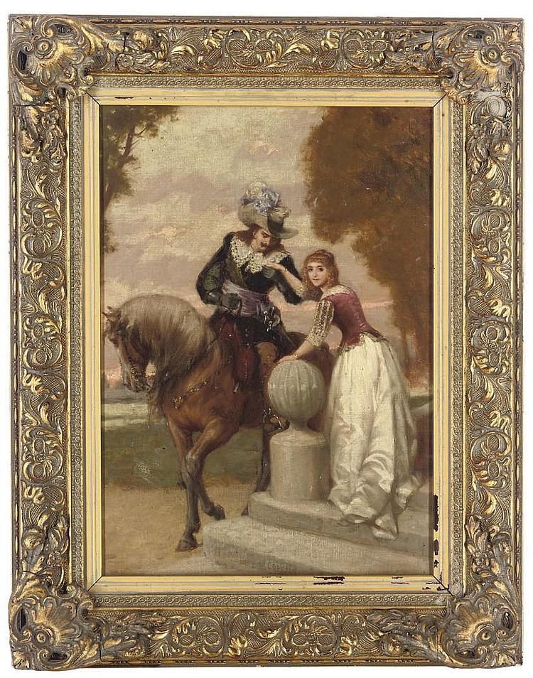 Charles Alexandre Coessin De La Fosse (French, 1829-1910)