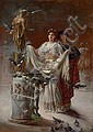 Edwin Howland Blashfield (1848-1936) , Edwin Howland Blashfield, Click for value
