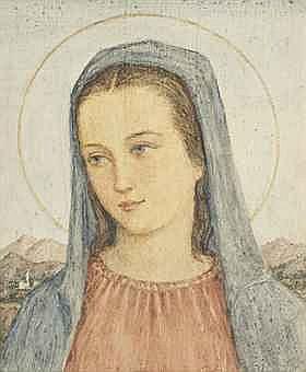 Guilio Masseroni (Italian, 1900-1980)   The Madonna