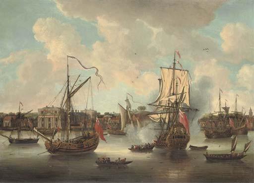 Isaac Sailmaker (Scheveningen 1633-1721 London)