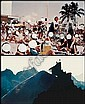 Figures at Beach/Figures on Mountain Peak, John Baldessari, Click for value