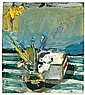 Untitled (Still Life with Iris), Richard Diebenkorn, Click for value