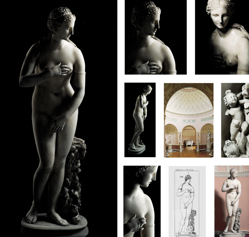 A HIGHLY IMPORTANT ROMAN MARBLE STATUE OF VENUS, OF MEDICI TYPE