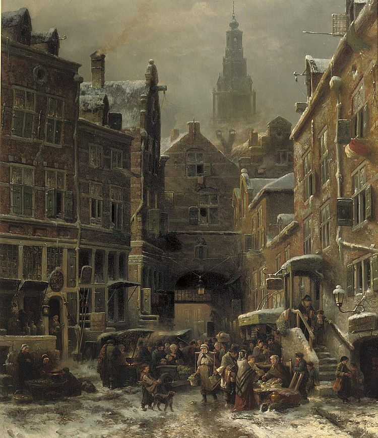 Samuel Leonardus Verveer (The Hague 1813-1876)