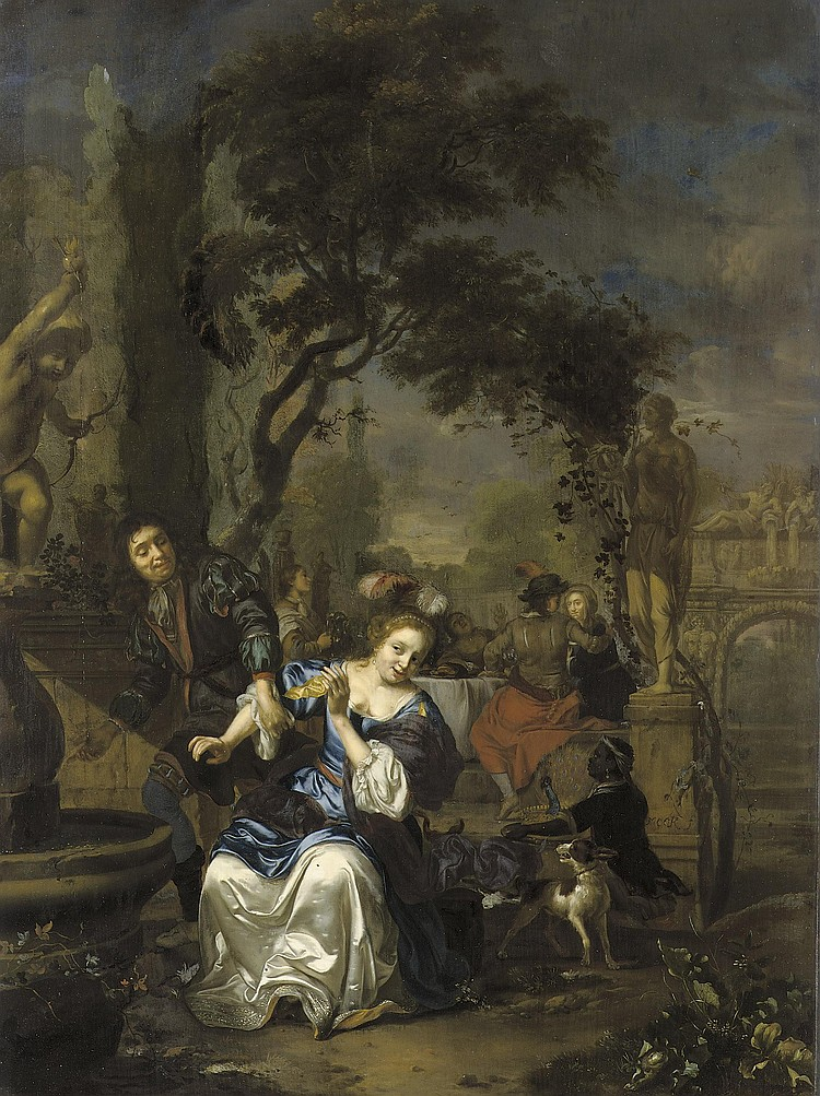 Carel de Moor II (Leiden 1656-1738 Warmond)