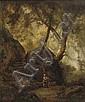 Attributed to Carl Eduard Blechen (Cottbus 1798-Berlin 1840) , Carl Blechen, Click for value