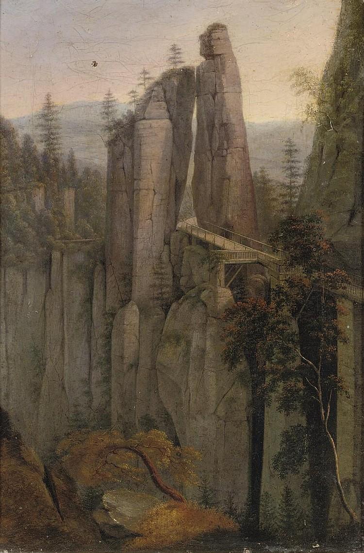 Ernst Ferdinand Oehme Artwork For Sale At Online Auction
