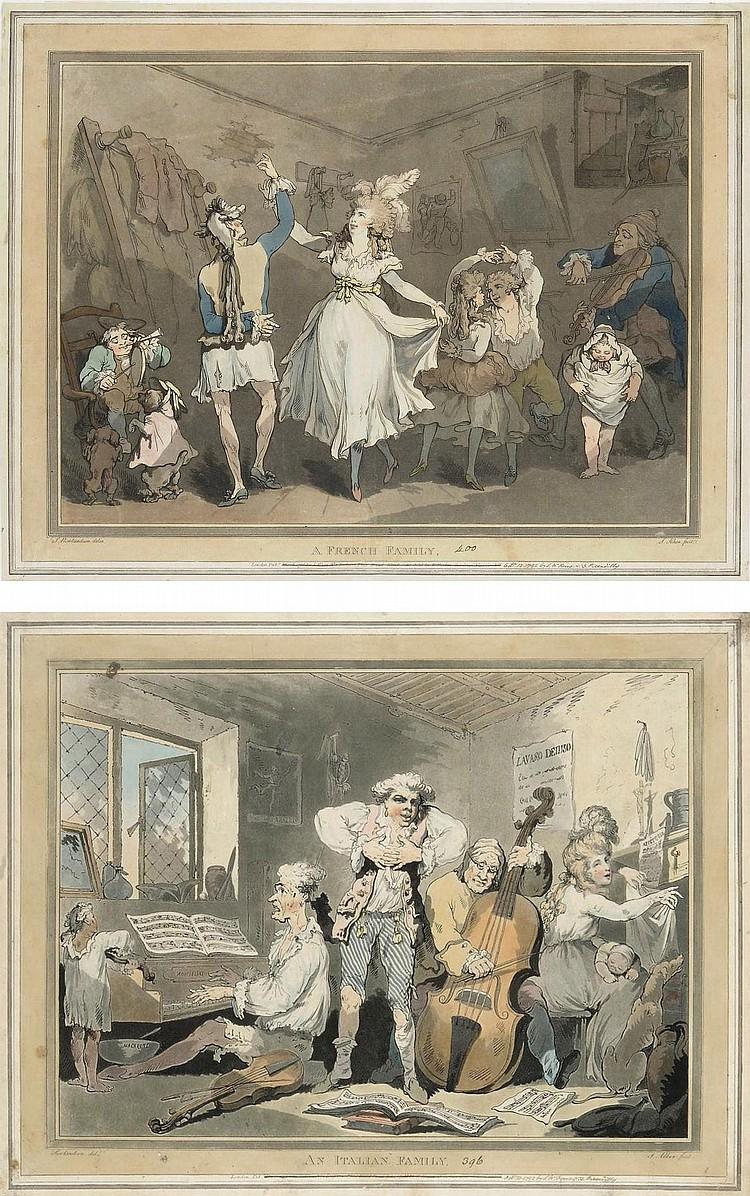 Thomas Rowlandson (1756-1827) and Samuel Alken (1756-1815)