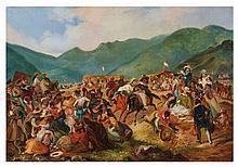 Johann Moritz Rugendas (1802-1858) - The fiesta of San Juan in Amencaes
