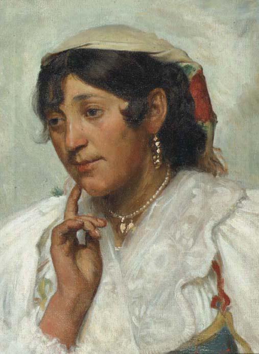 Angiolo Tommasi (Italian, 1858-1923)