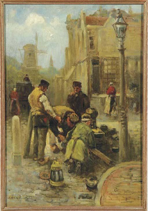 Adriaan de la Rivière (Dutch, 1857-1941)
