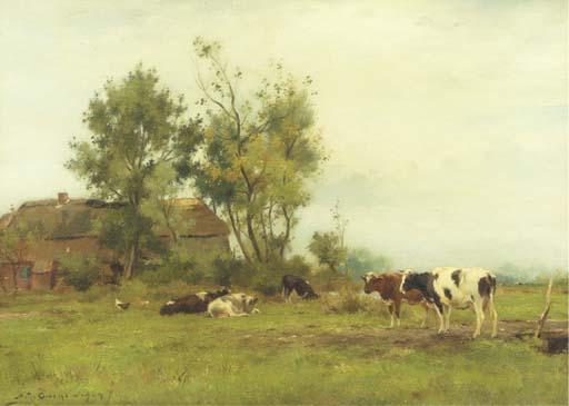 Adrianus Johannus Groenewegen (Dutch, 1874-1963)