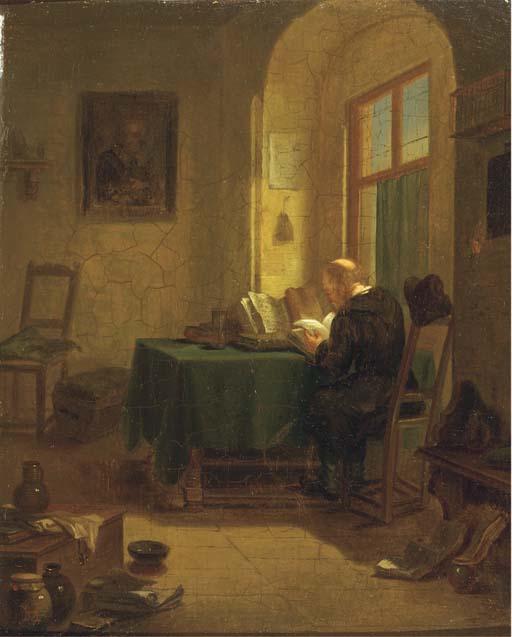 Hubertus van Hove Bz. (Dutch, 1814-1864)
