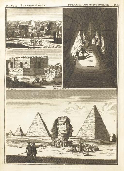 BRUYN, Cornelis de (1652-1727). <I>Voyage au Levant, c'est-à-dire, dans les principaux endroits</I>