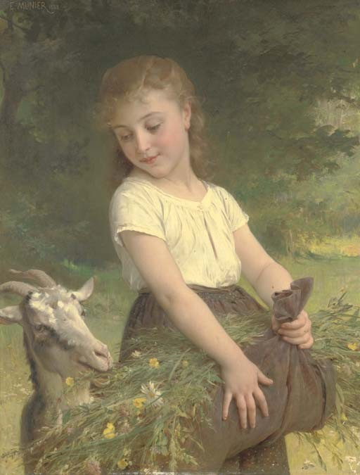 Emile Munier (French, 1810-1895)