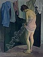Model Dressing, Raphael Soyer, Click for value