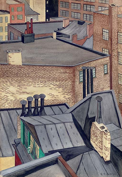George Copeland Ault Works On Sale At Auction Amp Biography